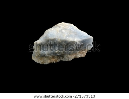 mineral Anhydrite - stock photo