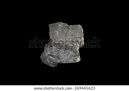 mineral  coal - stock photo