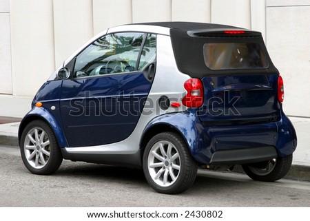 Mini automobile - stock photo