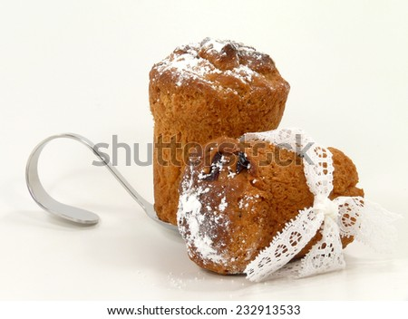 mini-panettone - stock photo