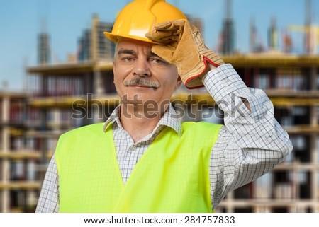 Mining, Engineer, Manual Worker. - stock photo
