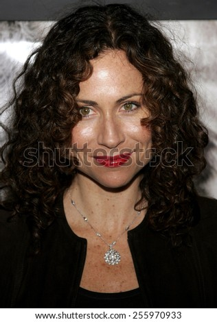 "Minnie Driver and attends ""The Queen"" Los Angeles Premiere held at the Academy of Motion Picture Arts and Sciences in Beverly Hills, California on October 3, 2006.  - stock photo"
