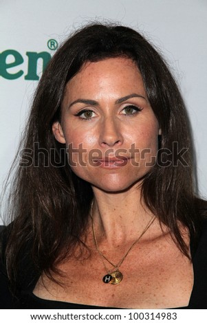 "Minnie Driver  at ""The Oxfam Party"" At Esquire House LA, Private Location, Beverly Hills, CA 11-18-10 - stock photo"