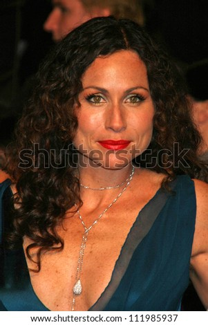 Minnie Driver at the 2007 Vanity Fair Oscar Party. Mortons, West Hollywood, CA. 02-25-07 - stock photo