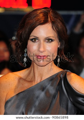 Minnie Driver attends the premiere of 'Hunky Dory' at The 55th BFI London Film Festival at The Vue West End, London.  25/10/2011 Picture by: Simon Burchell / Featureflash - stock photo