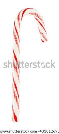 Mint Candy Cane - stock photo