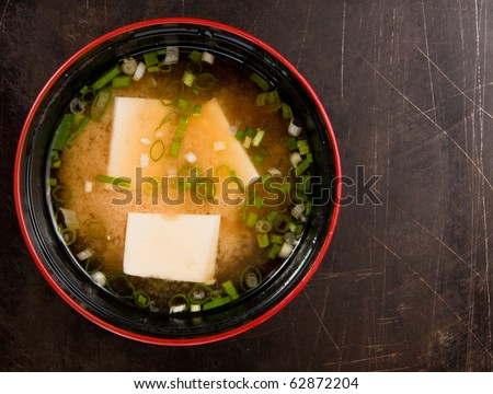 Miso soup , Japanese Food. - stock photo