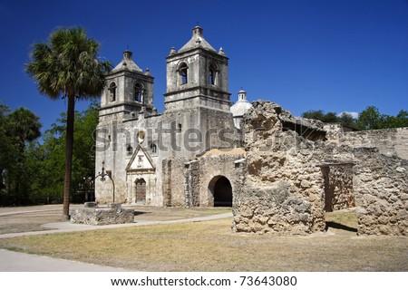 Mission Concepci�³n, San Antonio - stock photo