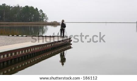 mississippi national seashore - stock photo