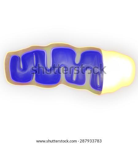 Mitochondria - stock photo