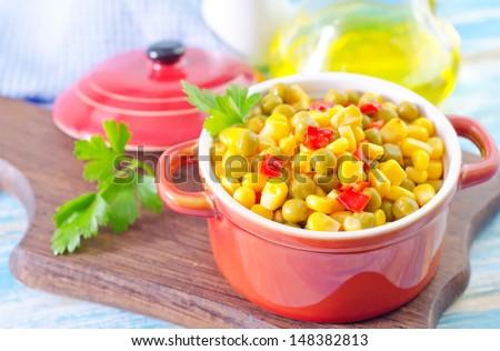 mix vegetables - stock photo