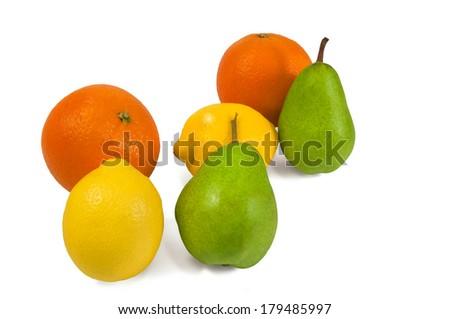 Mixed fruit - stock photo
