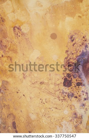 Mixed Media Abstract Texture Background Vertical Photograph - stock photo