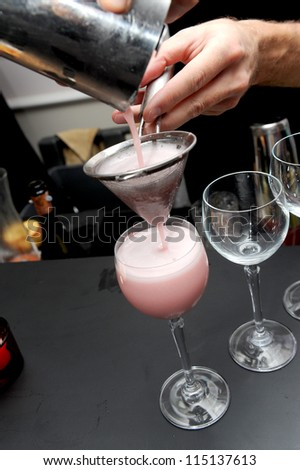 mixer cocktai - stock photo