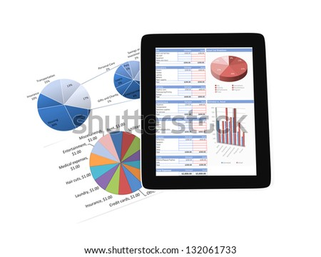 Mobile business - stock photo