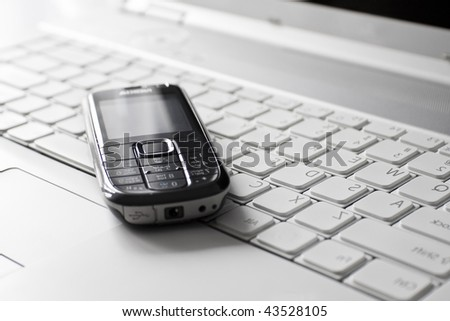 Mobile business concept - stock photo