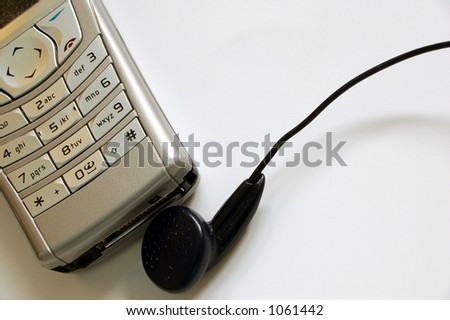 mobile phone # 3 - stock photo