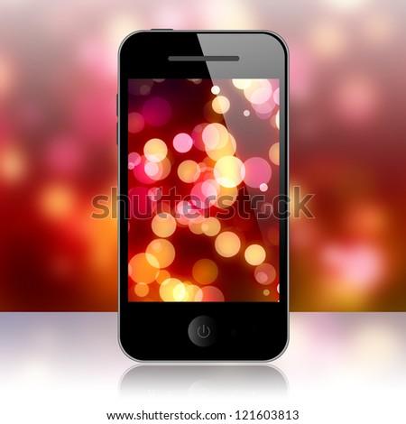 Mobile phone - stock photo