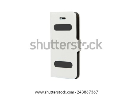 Mobile phone case - stock photo
