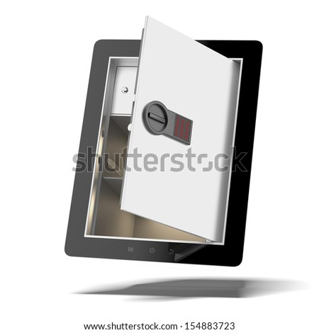 Mobile Security - stock photo