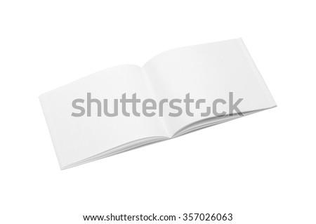 Mockup copybook, notebook. - stock photo