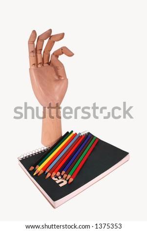 Model Sketch - stock photo