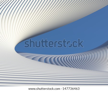 Modern architectural creative background. Geometric elegant wallpaper design - stock photo