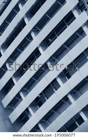 Modern architecture background-Modern Building Abstract Detail   - stock photo