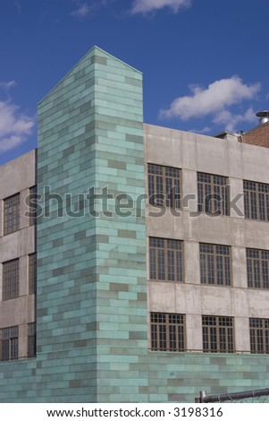 modern architecture building - stock photo