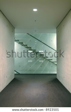 modern architecture, interior - stock photo