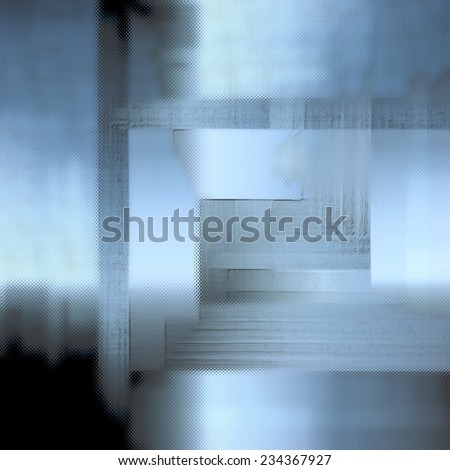 Modern art, The door, Interior abstract background. - stock photo