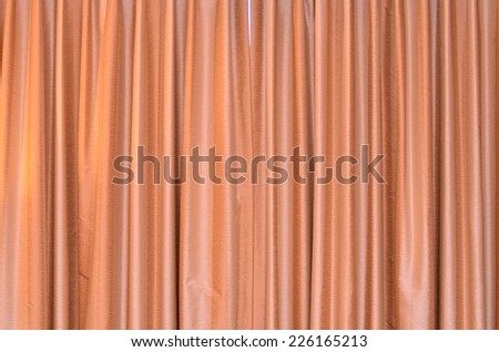 Modern blinds on the window - stock photo