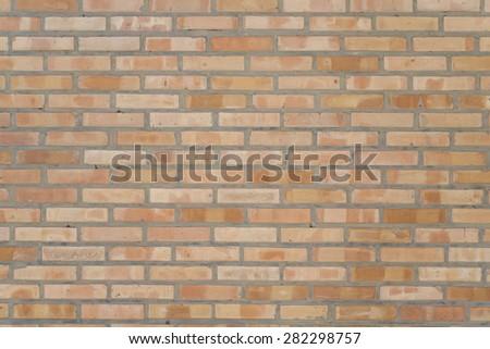 Modern brick wall. - stock photo