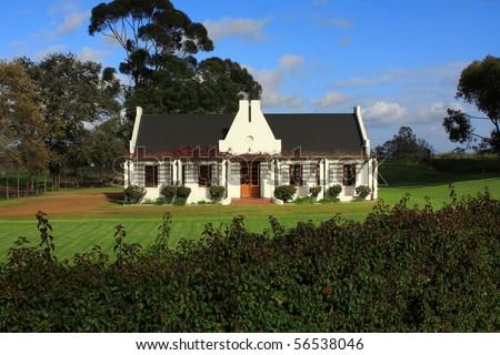 Cape Dutch Architecture Stock Photos Images Pictures
