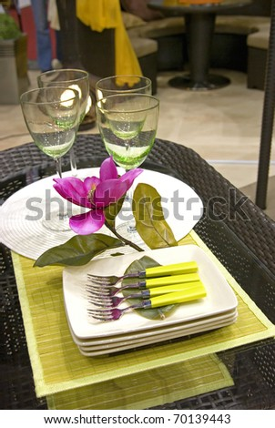 Modern catering - stock photo
