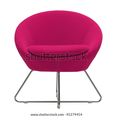 modern chair - stock photo