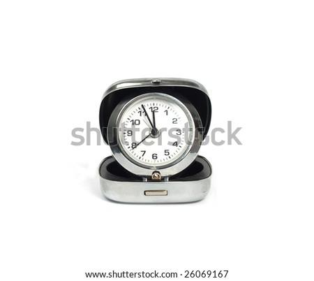 modern clock - stock photo