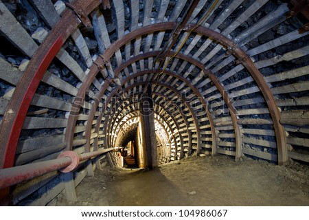 Stock Images similar to ID 221430175 - mine gold ...