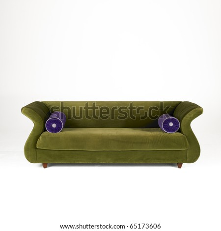 Modern Couch - stock photo