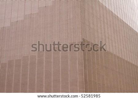 Modern Facade. Hong Kong - stock photo