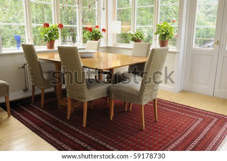 Modern interior. - stock photo