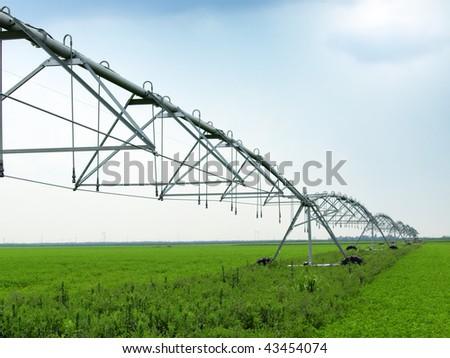 Modern irrigation tool. - stock photo
