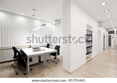 Modern office - stock photo