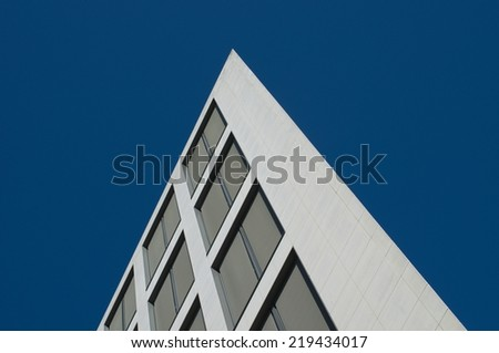 modern office facade - stock photo