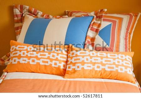 Modern stylish children's bedroom - stock photo