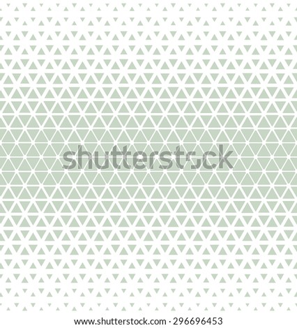 Modern stylish texture of the triangles and hexagons. Seamless pattern. Repeating geometric tiles. - stock photo