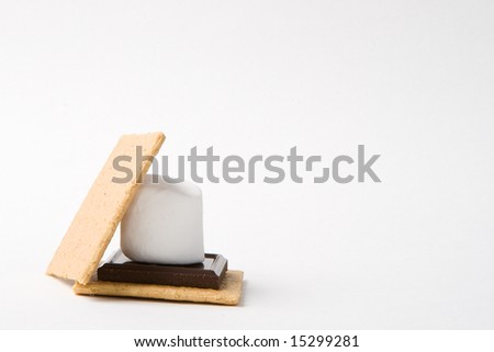 Modern take on the traditional Smores - stock photo