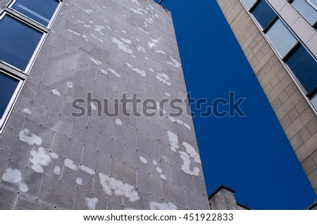 Modern Warehouse Facades - stock photo