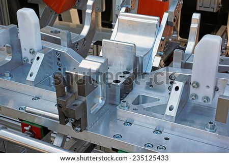 modern workshop. - stock photo