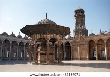 Mohamed Ali Mosque, Cairo, Egypt - stock photo